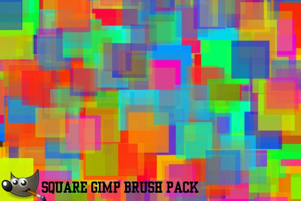 Colorful Square Brushes