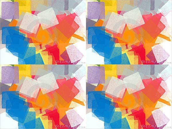 abstract colorful square brushes