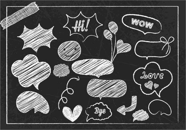 Chalk Doodle Brushes