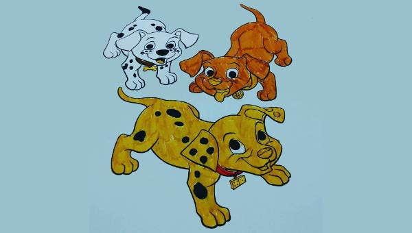 dog coloring pages1