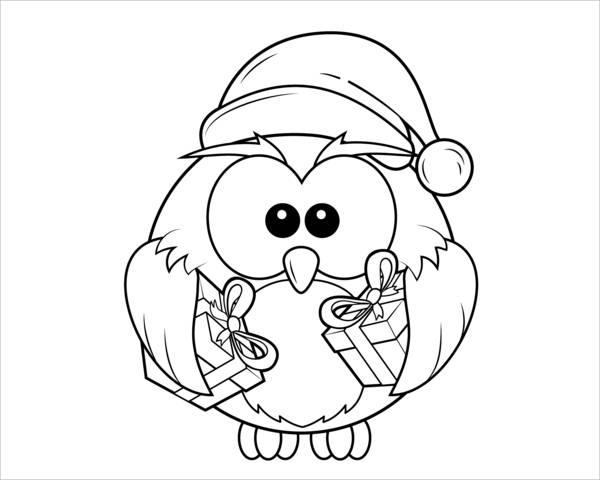 christmas-owl-coloring-page