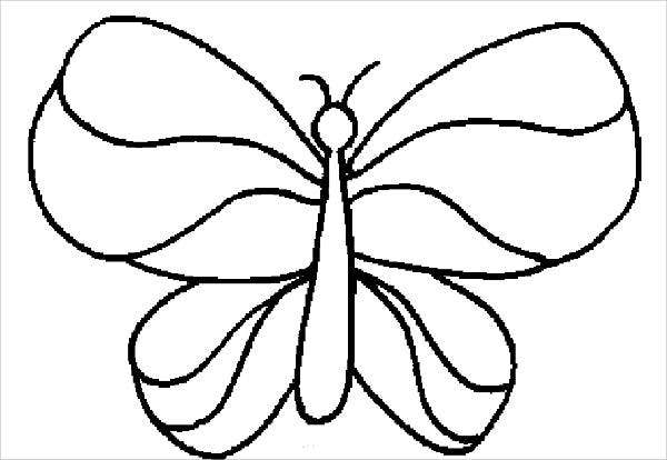 Butterfly Wings Coloring Page