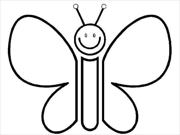 Coloring Pages Of Butterfly Wings Coloring Pages Of Butterfly Wings