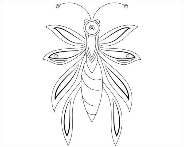 abstract-butterfly-coloring-page