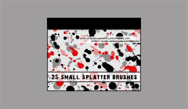Small Splatter Brushes