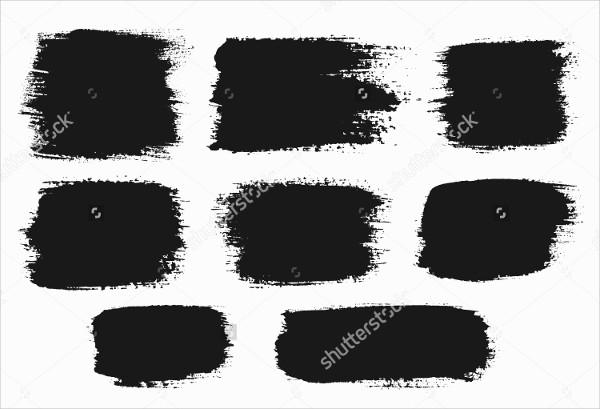 Square Splatter Brushes