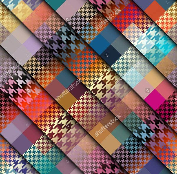 abstract plaid patterns1