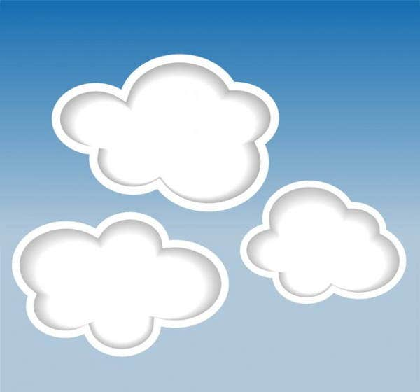 cloud-background-vector