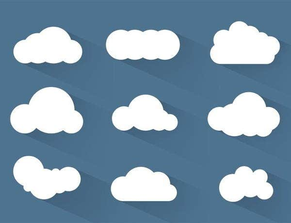 simple-cloud-vector