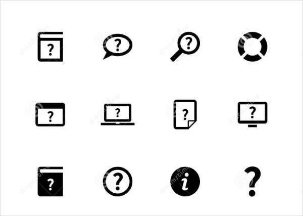 Help Icon White