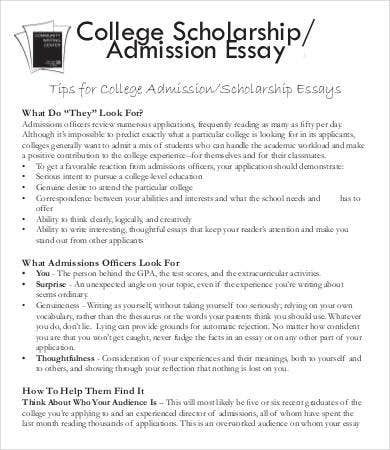 How to write college admission essay 2014