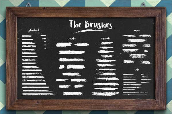 Chalk Classic Brushes