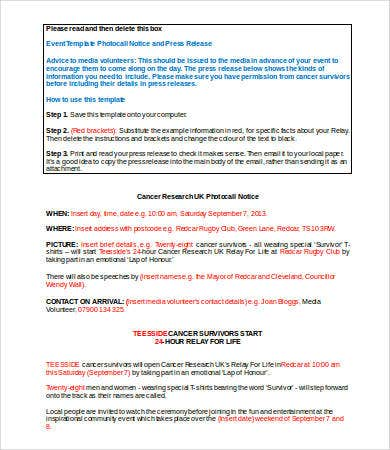 press release template word 5 free word documents download free