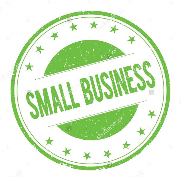 Small Advertising Business Logo