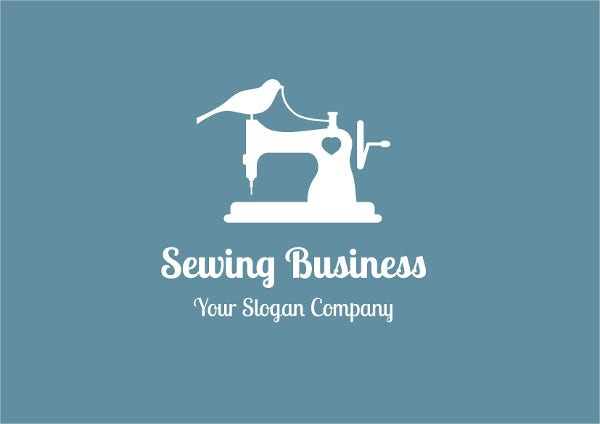 Small Sewing Business Logo
