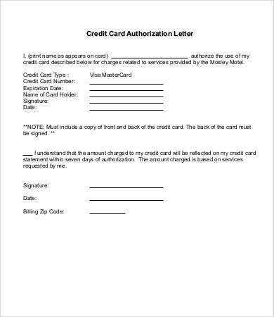 Sample Authorization Letter   Free Documents In Word