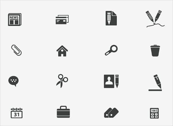 office document icons