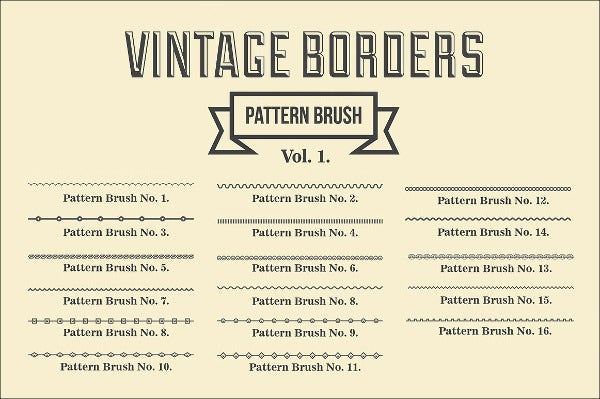 vintage border brushes1