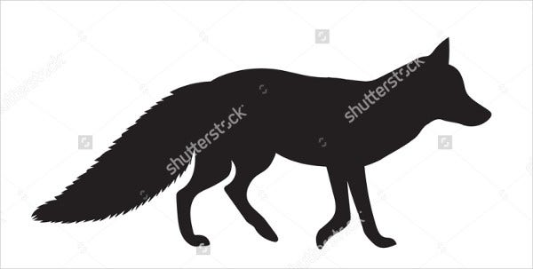Fox Silhouette Vector