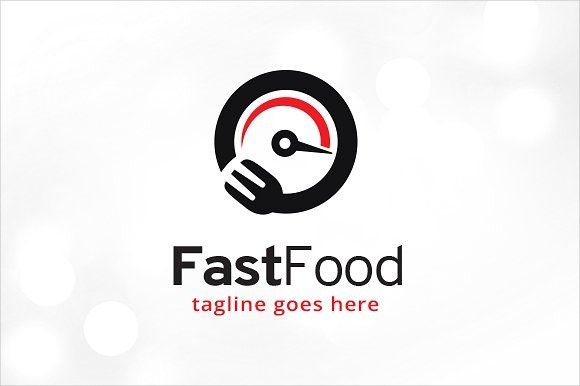 fast food business logo
