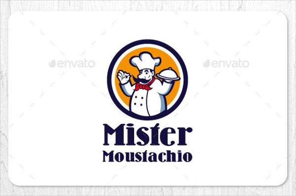 food and restaurant business logo