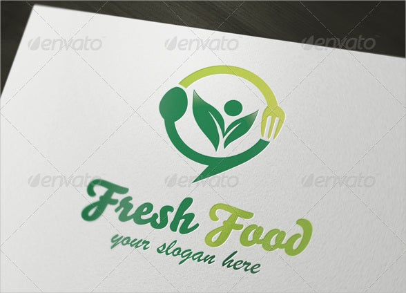 custom fresh food business logo