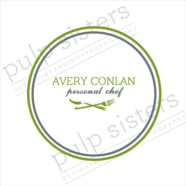 simple food business logo