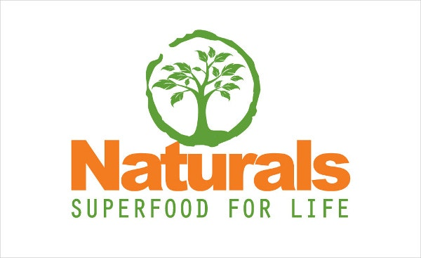 natural food business logo