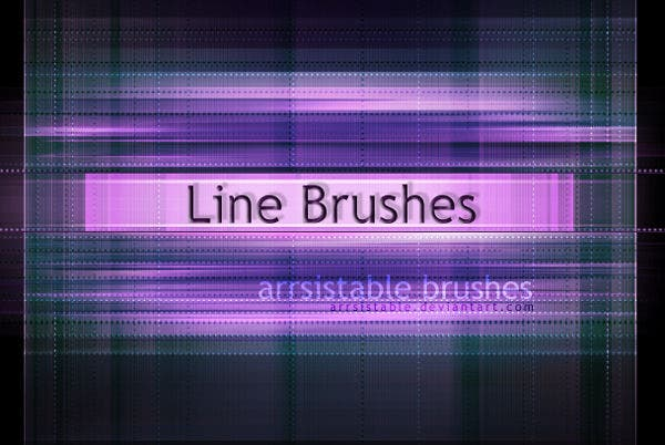 Line Light Brushes