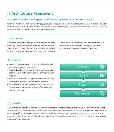 IT Architecture Assessment Template