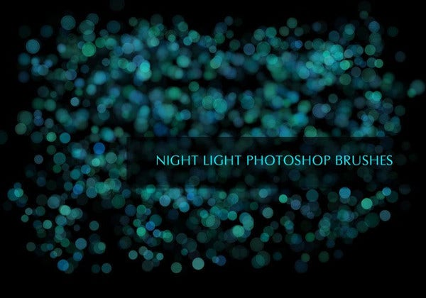 space light brushes photoshop