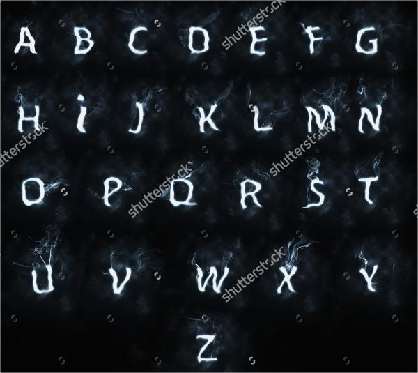 smoke-text-font