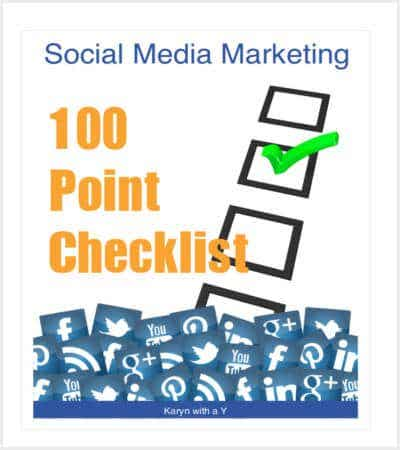 social media marketing checklist template min
