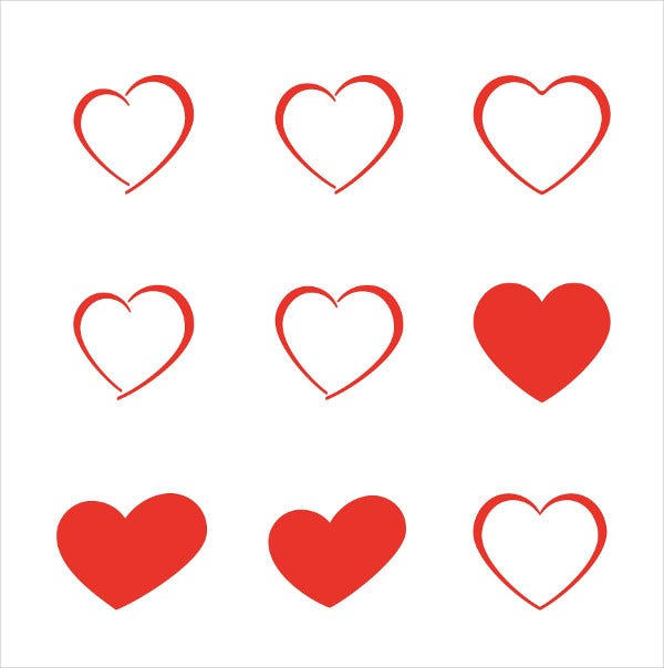 Love Heart Icons