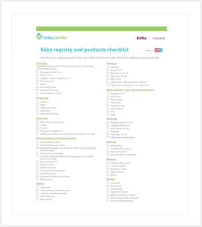 printable baby register and product checklist min