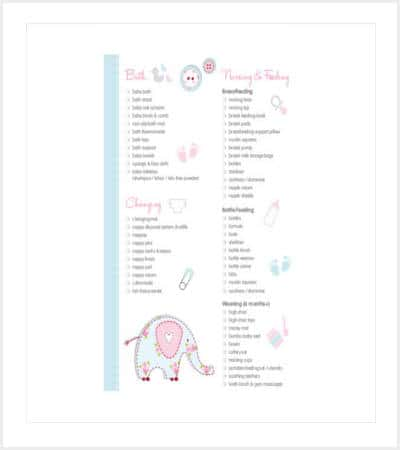 sample essential baby register checklist min