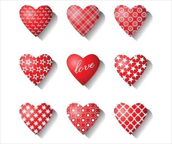 free heart icons