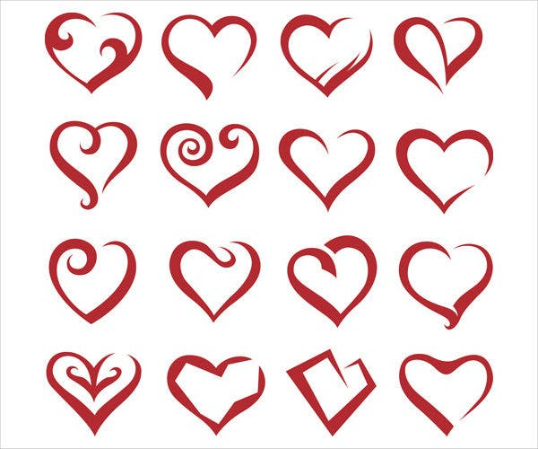 Valentine Heart Icons