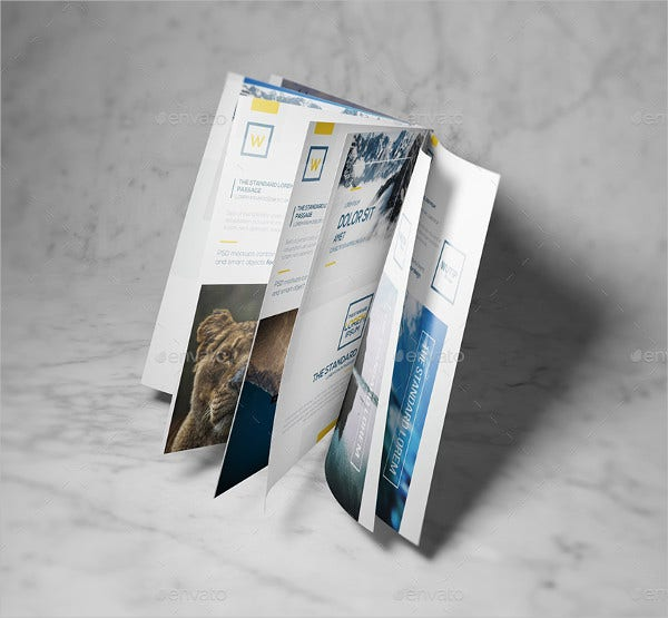 A5 Booklet Mockup