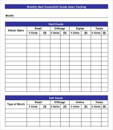 Excel Sales Template - 8+ Free Excel Documents Download | Free
