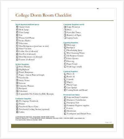 college dorm room checklist min