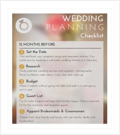 wedding planner guide checklist min