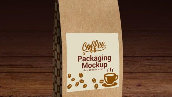 coffee bag mockups
