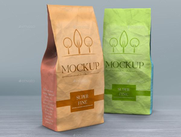 Product Paper Bag Mockup