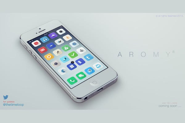 Free iPhone PSD Mockup