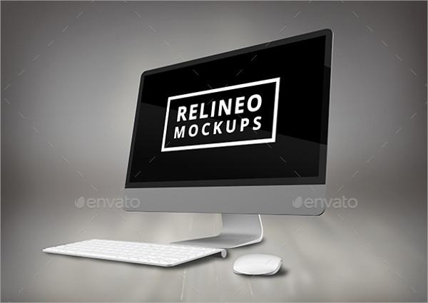 Apple iMac Display Mockup