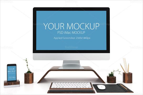 iPhone and iMac Mockup