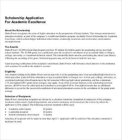 Falero scholarship essays