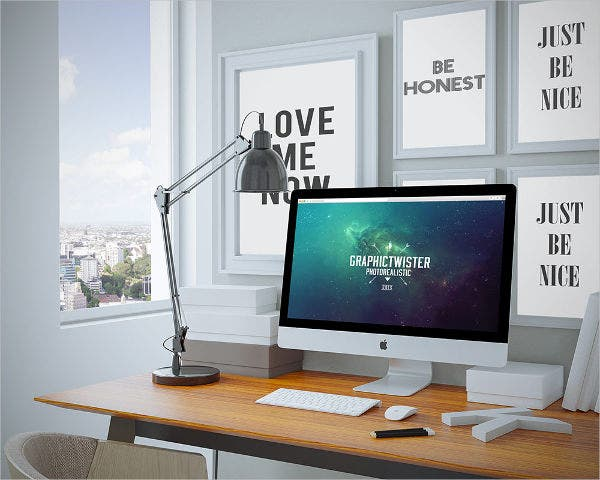 iMac Presentation Mockup