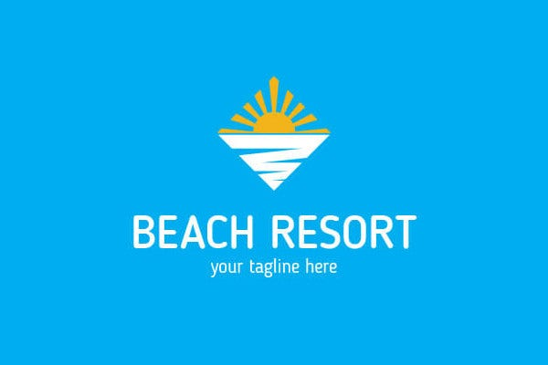 9 resort logos free sample example format download